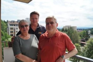 Doris Ziegler, Wolfgang Ponto und Siegfried Ziegler