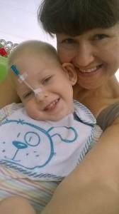 Mit Mama Iryna